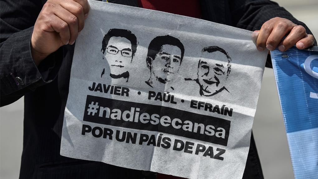 Ecuador protesta por