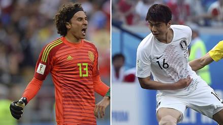 Corea del Sur vs México EN VIVO EN DIRECTO ONLINE: Minuto a minuto por el Grupo F de Rusia 2018