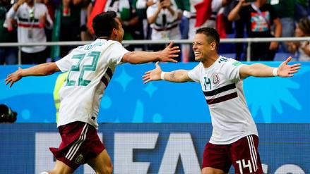 México venció a Corea del Sur y abraza el pase a octavos de final de Rusia 2018