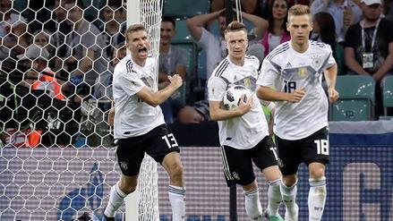 El gol de Marco Reus para igualar el partido ante Suecia