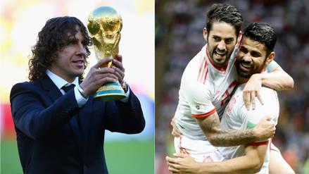 Carles Puyol fue censurado cuando iba a comentar el España vs. Irán para la TV de este país