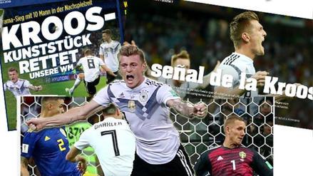 Así informó la prensa mundial tras la agónica victoria de Alemania