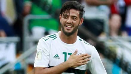Vela le dedicó su gol ante Corea a su abuelo fallecido en pleno Mundial
