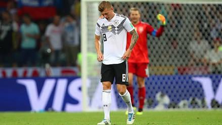 El error de Toni Kroos que terminó en gol de Suecia en Rusia 2018