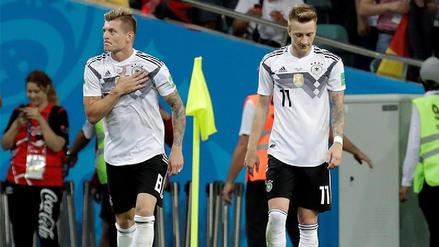 Alemania venció a Suecia en el último minuto y sigue con vida en el Mundial