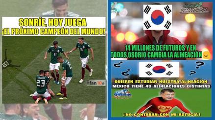 Los memes previo al duelo entre México y Corea del Sur en Rusia 2018