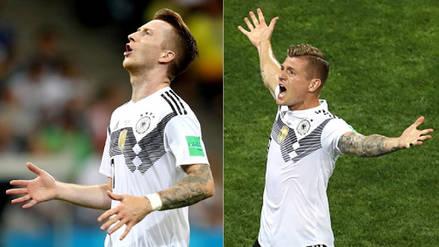 Alemania: de la tristeza a la euforia total tras el golazo de Kroos