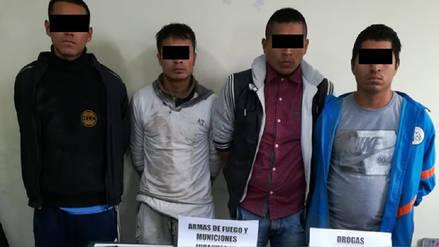 Policía captura a cuatro personas acusadas de integrar la banda 'Los injertos'