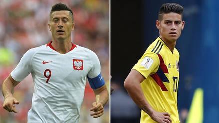 Polonia vs Colombia EN VIVO EN DIRECTO ONLINE: Fecha, horarios y alineaciones probables