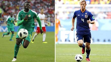 Japón 2-2 Senegal: Goles y resumen del partido por Rusia 2018