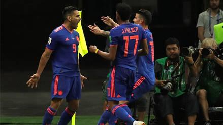 Colombia goleó 3-0 a Polonia y sueña con pasar a octavos de final