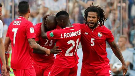 El llanto de Felipe Baloy tras anotar el primer gol de Panamá en los Mundiales