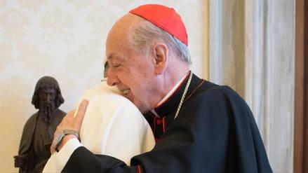Papa Francisco envió un saludo y bendición apostólica al cardenal Juan Luis Cipriani