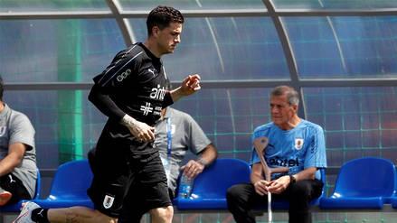 José María Giménez, defensa de Uruguay, no estará ante Rusia por el Mundial