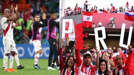 Hinchas hicieron 'banderazo' para recibir a la Selección Peruana en Sochi