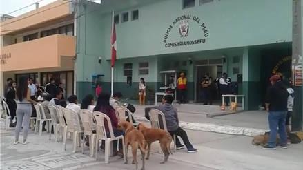 Comisaría de Monsefú instaló comedero para perros abandonados