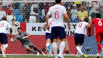 Inglaterra se metió a octavos de final al apabullar 6-1 a Panamá con hat-trick de Kane