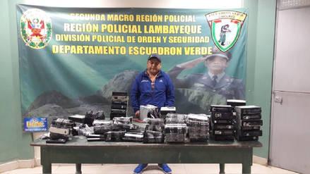 Agentes del grupo Terna incautaron accesorios de vehículos en La Cachina
