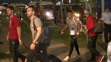 Selección Peruana llegó a Sochi con miras al partido con Australia