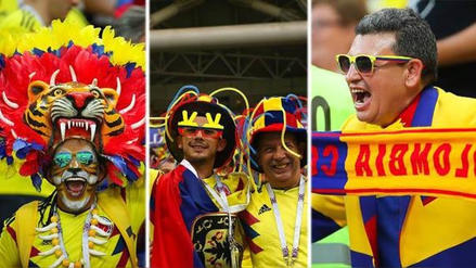 Colombia: así celebraron sus hinchas el triunfo ante Polonia en Rusia 2018