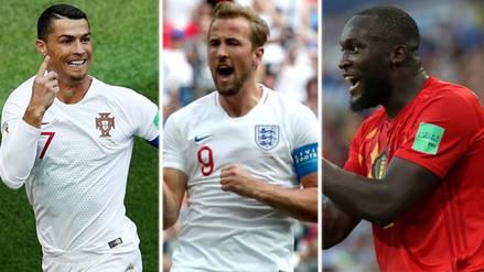 Más peleado que nunca: los máximos goleadores del Mundial Rusia 2018