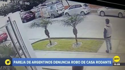 Magdalena | Ciudadanos argentinos denunciaron el robo de su casa rodante