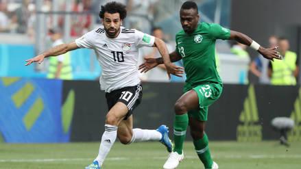 Egipto cayó 1-2 ante Arabia Saudita en la despedida de Rusia 2018