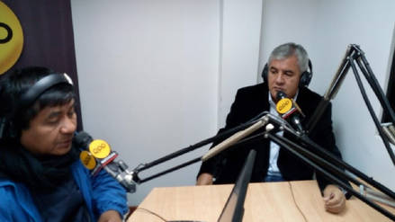 Edgar Cayotopa rechaza haber perjudicado candidatura de Miguel Bartra
