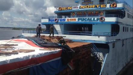 Iquitos: incautan 35 kilos de clorhidrato de cocaína en embarcación fluvial