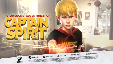 Juega gratis The awesome adventures of Captain Spirit a partir de hoy