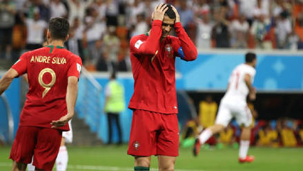 Cristiano Ronaldo se convirtió en el primer portugués en errar un penal en un Mundial