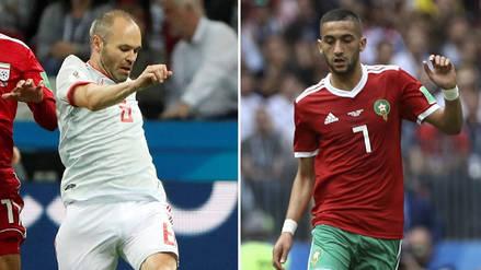 Minuto a minuto | España vs Marruecos EN DIRECTO: por el Grupo B en Rusia 2018