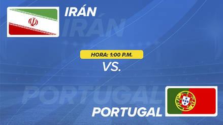 Irán vs Portugal EN VIVO EN DIRECTO ONLINE: Fecha, horarios y alineaciones probables
