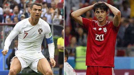 Irán vs Portugal EN VIVO EN DIRECTO ONLINE: Minuto a minuto por el Grupo B de Rusia 2018