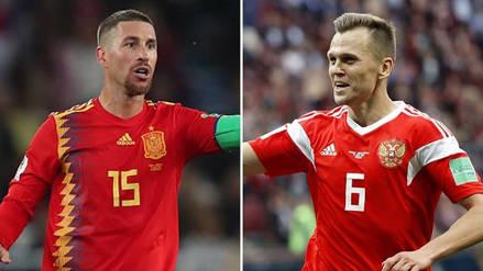 Rusia recibe a España en pos de un lugar en cuartos de final de Rusia 2018