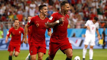 Irán empató 1-1 ante Portugal por el Grupo B de Rusia 2018