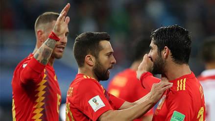 España igualó sobre la hora con Marruecos y pasó a octavos como líder del grupo B