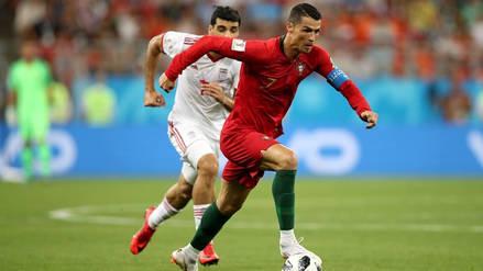 Portugal con mucho susto empató 1-1 ante Irán y clasificó a octavos de final