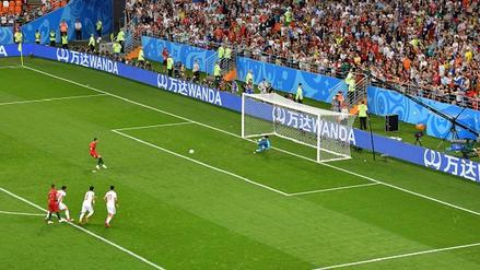 Así fue el penal que erró Cristiano Ronaldo ante Irán