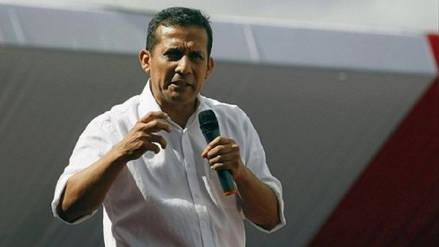 Ollanta Humala: El fujimorismo y el Apra quieren desaparecernos políticamente