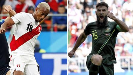 Perú derrota a Australia EN DIRECTO: en el Mundial Rusia 2018