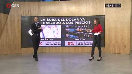 La eufórica celebración de gol que interrumpió una transmisión en vivo en Argentina