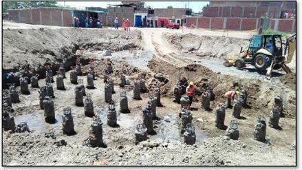 Contraloría advierte riesgos en obra de agua y alcantarillado de Monsefú