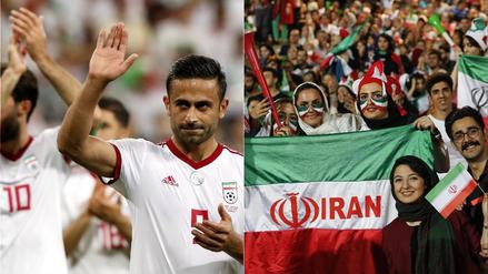 """Irán festeja la """"despedida épica"""" de su selección en el Mundial"""