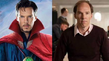 El radical cambio de look de Benedict Cumberbatch en