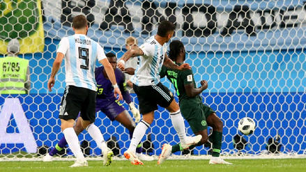 El gol de Marcos Rojo que le dio el pase a octavos de final a Argentina