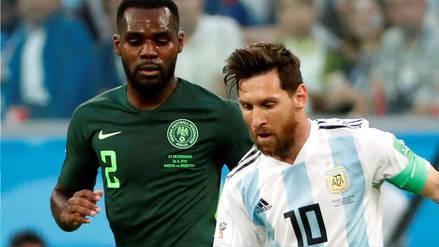 EN VIVO | Argentina 1-0 Nigeria: duelo clave por el Grupo D de Rusia 2018