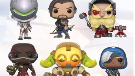 Funko Pop anuncia nuevas figuras de Overwatch