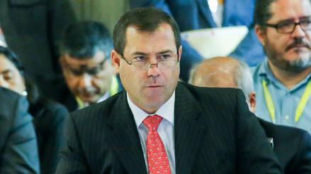El Ministerio Público continuará investigación preliminar contra exministro Bruno Giuffra
