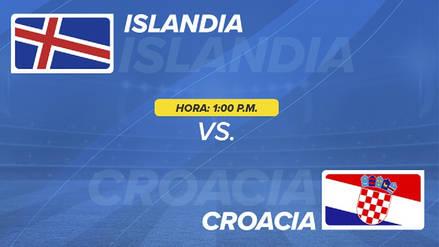 Islandia vs Croacia EN VIVO EN DIRECTO ONLINE: Fecha, horarios y alineaciones probables